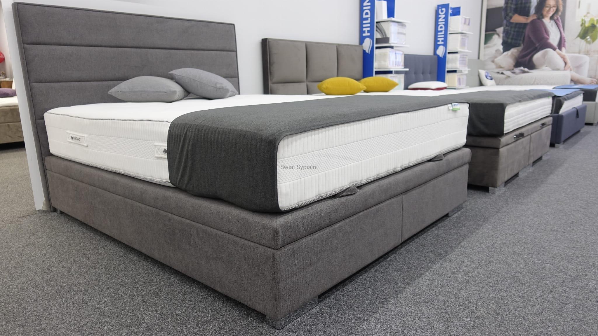 łóżko Kontynentalne Z Pojemnikiem Wezgłowie 201 New Elegance