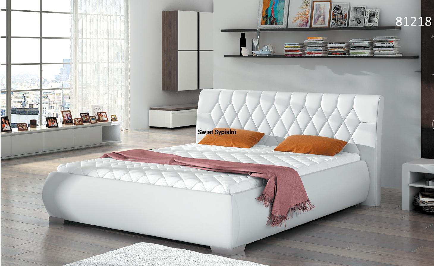 łóżko Tapicerowane 81218 Mk Foam Koło
