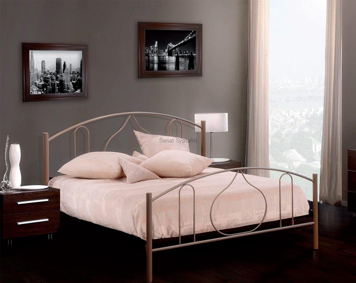 łóżko Metalowe Dalia