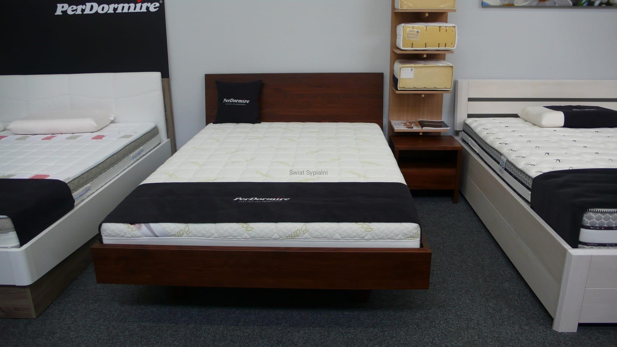Nowoczesne łóżko Drewniane Lk 113 Bukowe Drew Max