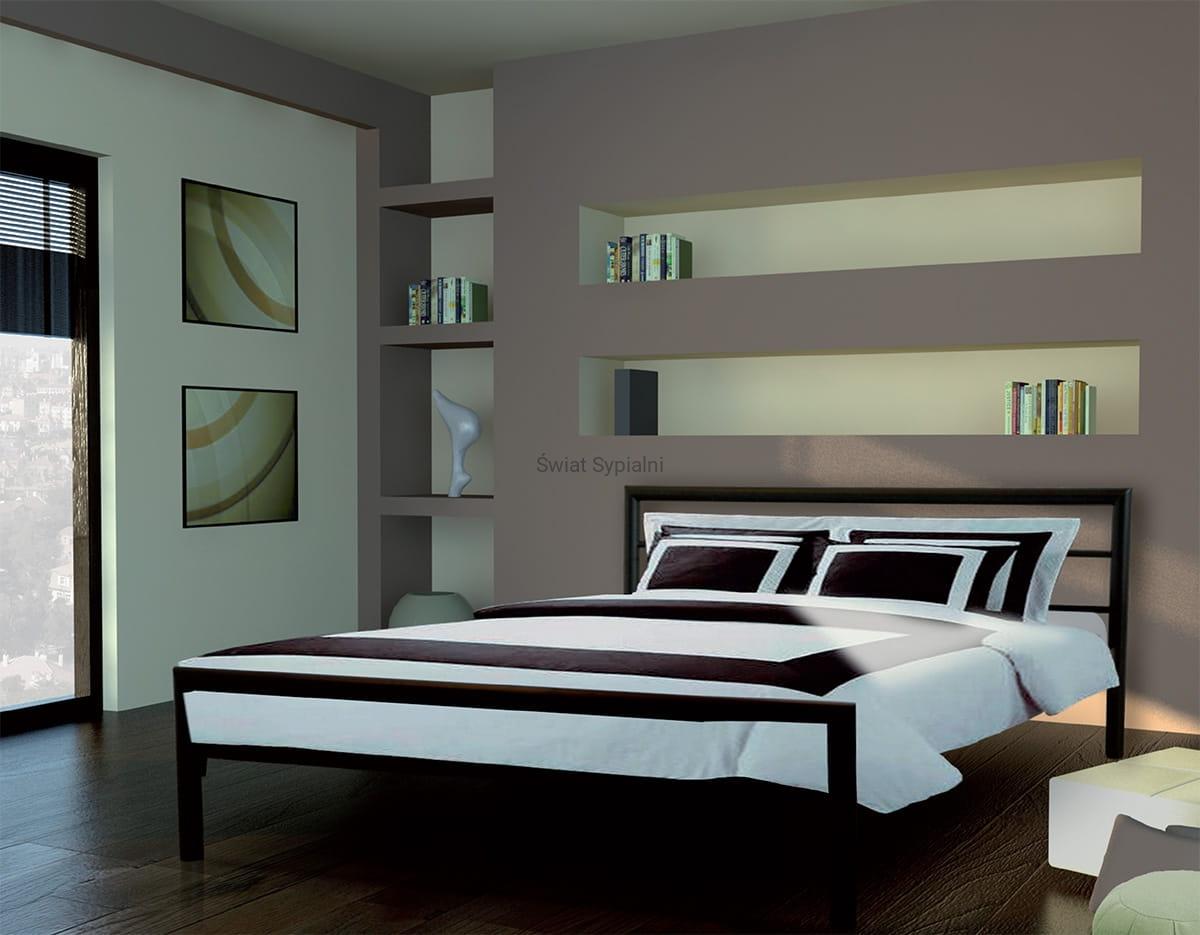 łóżko Metalowe Inga Ii
