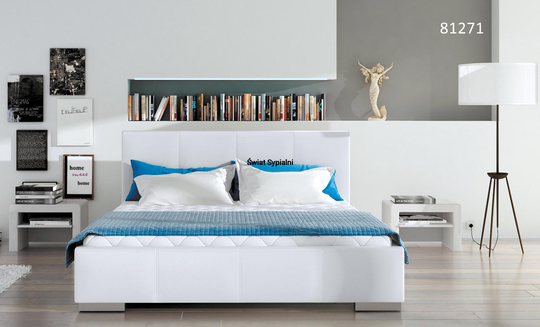 80271 łóżko Tapicerowane Mk Foam Koło