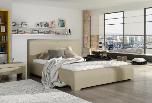 80219 łóżko Tapicerowane Mk Foam Koło