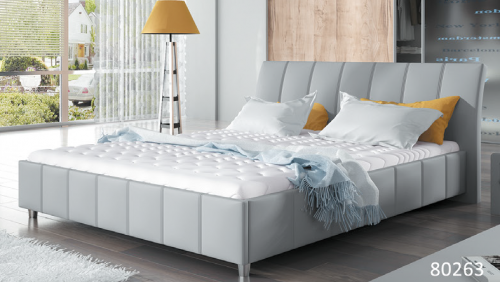 80263 łóżko Tapicerowane Mk Foam Koło