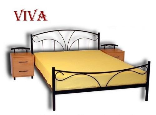 łóżko Metalowe Viva
