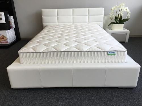 łóżko Nike R 140200 Białe Z Pojemnikiem