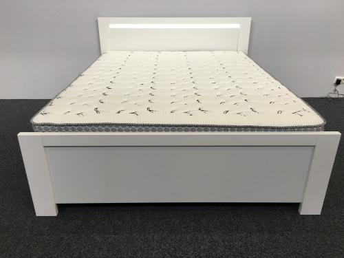 łóżko Białe New York New Elegance
