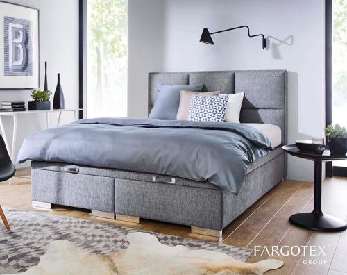 łóżko Kontynentalne Z Pojemnikiem Quadro Plus New Design świat