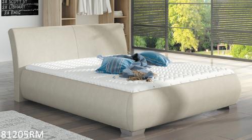 łóżko Tapicerowane 81205 Mk Foam Koło