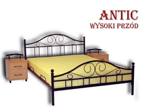łóżko Metalowe Antic